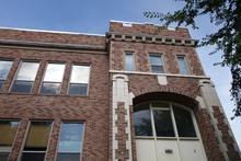 Old brick building - Lincoln Jr. High