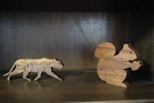 Jaguar and squirrel puzzles