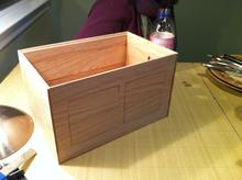 The box, less top and sides.